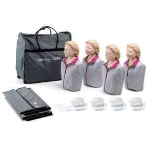 Little Anne QCPR, ljus hud 4-pack