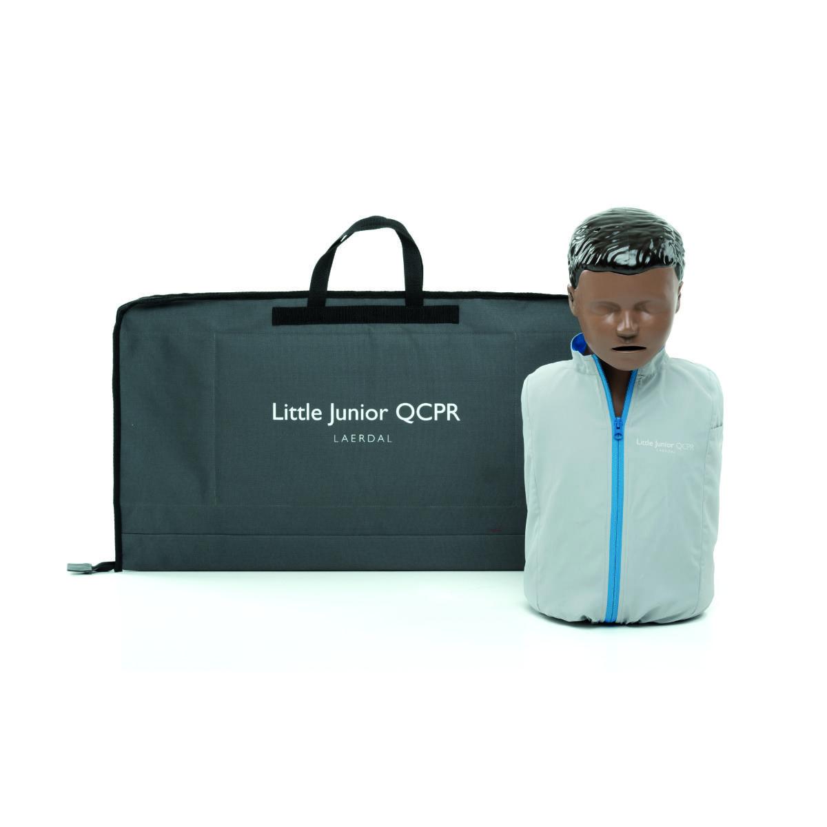 Little Junior QCPR, mörk hud