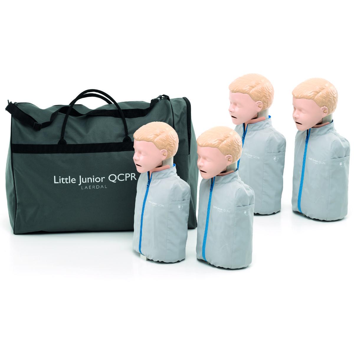 Little Junior QCPR, ljus hud 4-pack