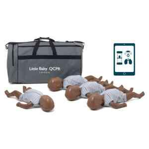 Little Baby QCPR, mörk hud 4-pack